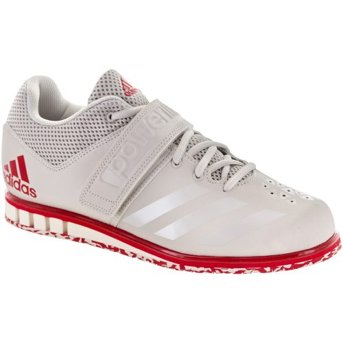 adidas Powerlift 3.1: adidas Men's Training Shoes Chalk Pearl/Chalk Pearl/Scarlet