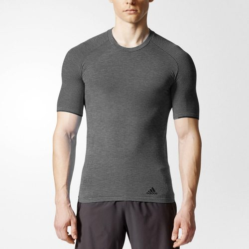 adidas Primeknit Wool Short Sleeve Tee: adidas Men's Running Apparel Fall 2017