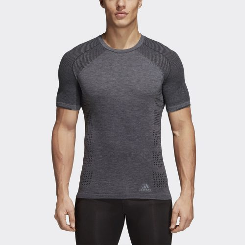 adidas Primeknit Wool Short Sleeve Tee: adidas Men's Running Apparel Spring 2018