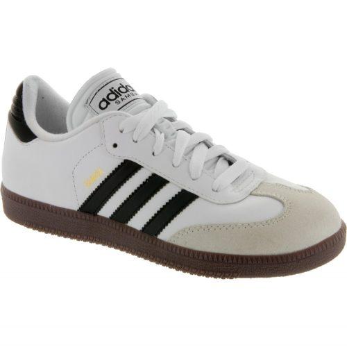 adidas Samba Classic Junior White: adidas Junior Soccer Shoes