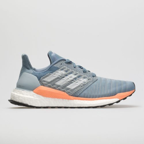 adidas SolarBoost: adidas Women's Running Shoes Raw Grey/White/Chalk Coral