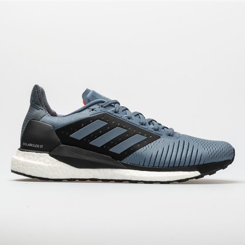 adidas SolarGlide ST: adidas Men's Running Shoes Raw Steel/Hi-Res Aqua