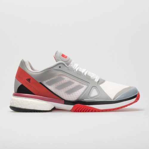 adidas Stella Barricade Boost: adidas Women's Tennis Shoes Mid Grey/Core Red