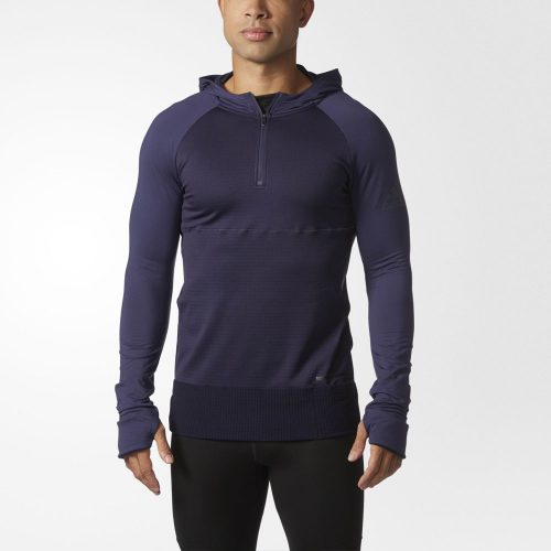 adidas Supernova Climaheat Explorer Long Sleeve Hoodie: adidas Men's Running Apparel
