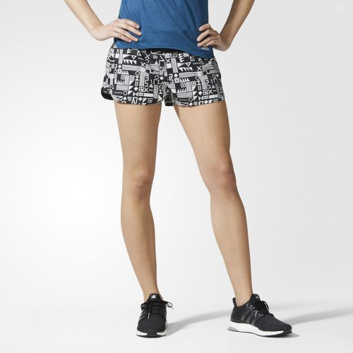 adidas Supernova Glide Short Mind Map Print: adidas Women's Running Apparel