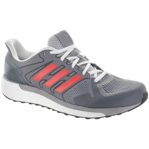 adidas Supernova ST: adidas Men's Running Shoes Gray/Red/Blue