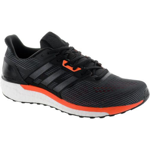 adidas Supernova: adidas Men's Running Shoes Utility Black/Core Black/Solar Orange