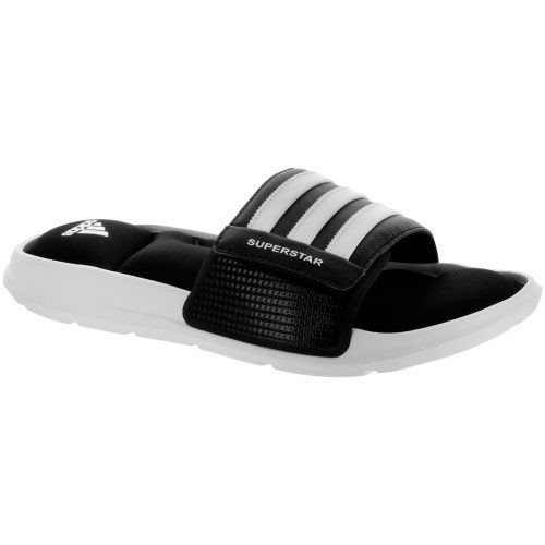 adidas Superstar 5G: adidas Men's Sandals & Slides Core Black/White/Core Black