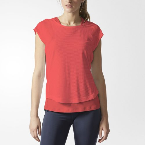 adidas Tokyo Two-Layer Short Sleeve Tee: adidas Women's Running Apparel