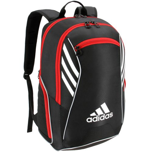 adidas Tour Team Backpack Black/White/Scarlet: adidas Tennis Bags