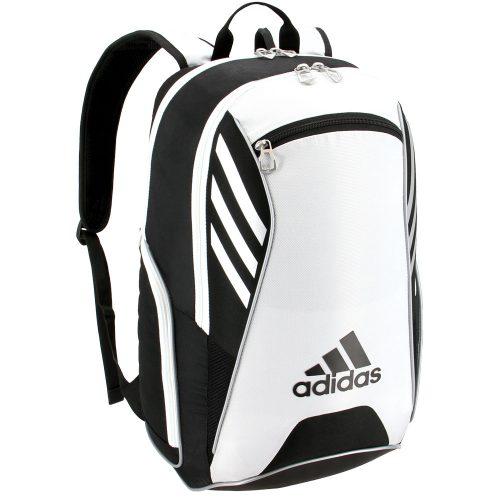 adidas Tour Team Backpack Black/White/Silver: adidas Tennis Bags