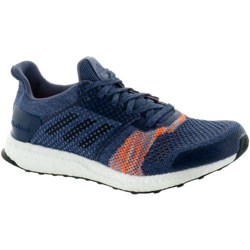 adidas Ultra Boost ST: adidas Women's Running Shoes Raw Indigo/Noble Ink/Hi-Res Orange