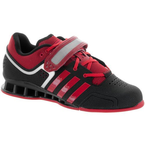 adidas adipower Weightlifting Shoe: adidas Men's Training Shoes Black/Light Scarlet/Gray