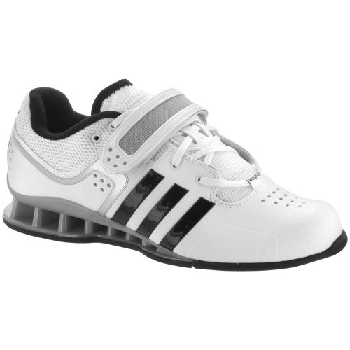 adidas adipower Weightlifting Shoe: adidas Men's Training Shoes White/Black
