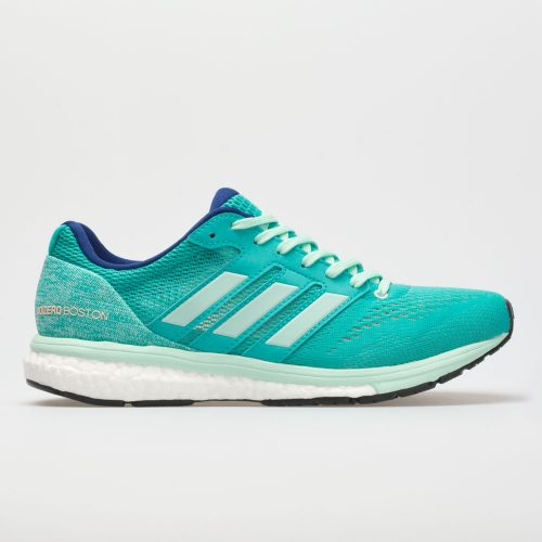 adidas adizero Boston 7: adidas Women's Running Shoes Hi-Res Aqua/Clear Mint/Mystery Ink