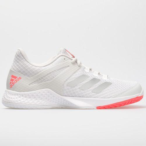 adidas adizero Club 2: adidas Women's Tennis Shoes White/Matte Silver/Grey One