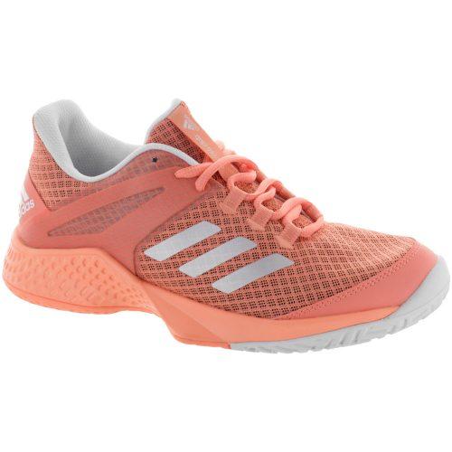 adidas adizero Club: adidas Women's Tennis Shoes Chalk Coral/White/Blue Tint