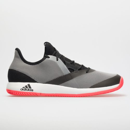 adidas adizero Defiant Bounce: adidas Men's Tennis Shoes Black/White/Red Flash