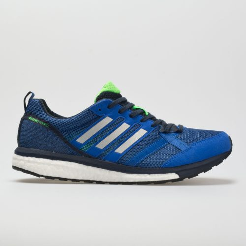 adidas adizero Tempo 9: adidas Men's Running Shoes Hi-Res Blue/Silver/Legend Ink