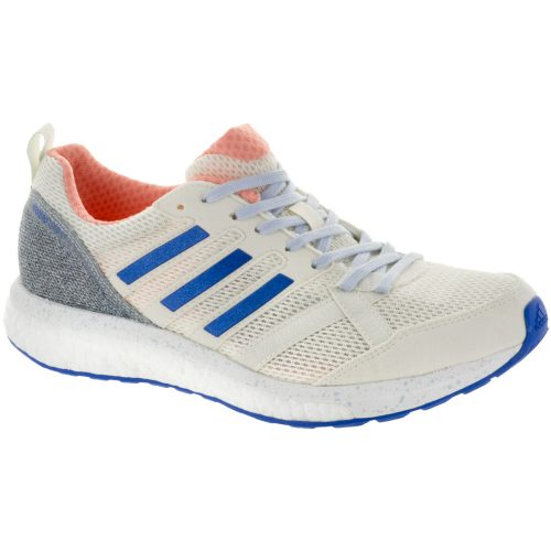 adidas adizero Tempo 9: adidas Women's Running Shoes Hi-Res Orange/Hi-Res Blue/Off White