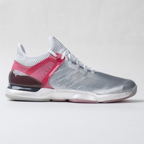 adidas adizero Ubersonic 2 LTD: adidas Men's Tennis Shoes Matte Silver/Real Pink