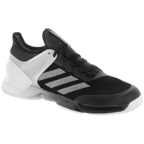 adidas adizero Ubersonic 2.0 Clay: adidas Men's Tennis Shoes Core Black/White