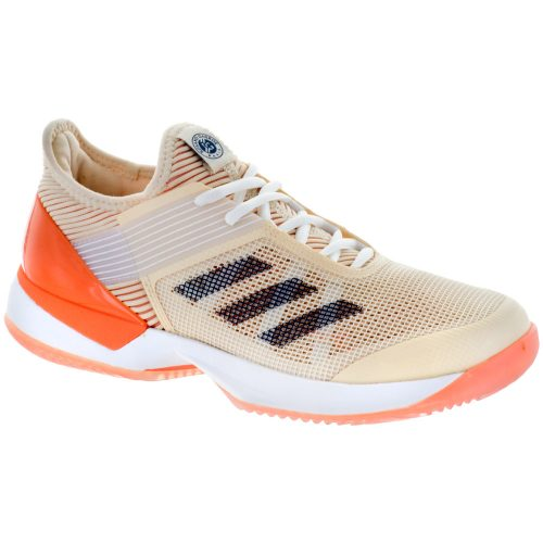 adidas adizero Ubersonic 3 Clay: adidas Women's Tennis Shoes Ecru Tint/Noble Indigo