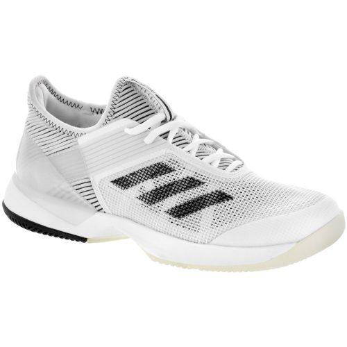adidas adizero Ubersonic 3.0: adidas Women's Tennis Shoes White/Core Black