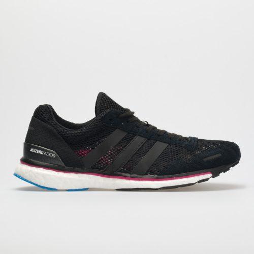 adidas adizero adios 3: adidas Women's Running Shoes Black/Real Magenta/Bright Blue