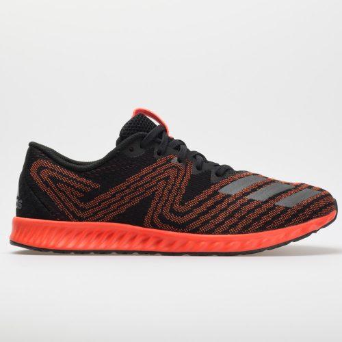 adidas aerobounce PR: adidas Men's Running Shoes Black/Solar Red