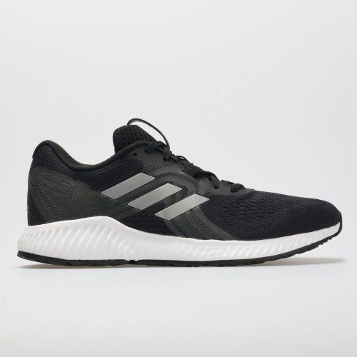 adidas aerobounce: adidas Men's Running Shoes Black/Silver/Hi-Res Aqua