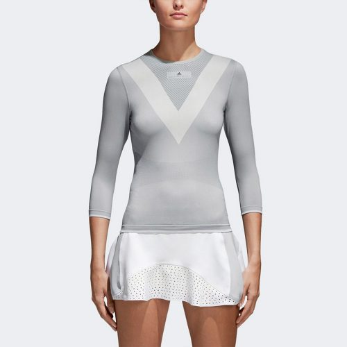 adidas by Stella McCartney Barricade Long Sleeve Tee: adidas Women's Tennis Apparel