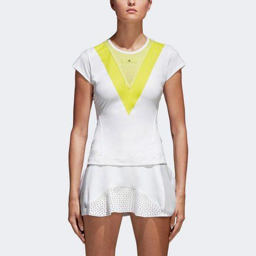 adidas by Stella McCartney Barricade Tee: adidas Women's Tennis Apparel Spring 2018