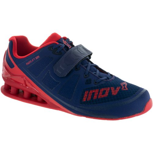 inov-8 Fastlift 325: Inov-8 Men's Training Shoes Navy/Red