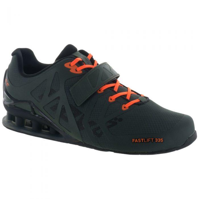 inov-8 Fastlift 335: Inov-8 Men's Training Shoes Thyme/Black/Orange