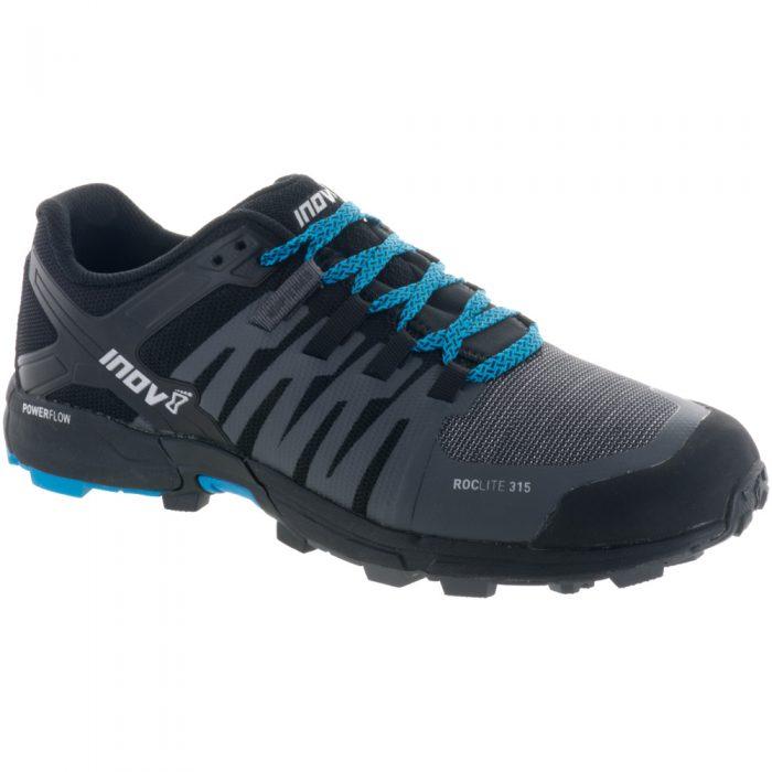 inov-8 Roclite 315: Inov-8 Men's Running Shoes Grey/Black/Blue
