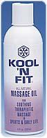 1 Gallon Kool 'N Fit All-Natural Massage Oil