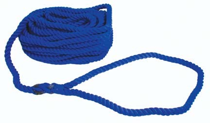 100' Deluxe Polypropylene Tug-O-War Rope with Center Flag