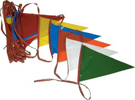 1000' Pennant Streamer Crowd Control / Runway Flags