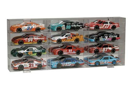 12 Slot 1/24 Scale Display Case from Clearwater Displays