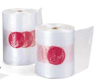 """12"""" x 24"""" Cramer Large Heavy-Duty Ice Bags - Roll of 750"""