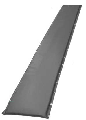 "14"" Black Protective Post Pad (For Posts Up to 2.75"")"