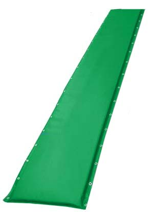 "14"" Green Protective Post Pad (For Posts Up to 2.75"")"