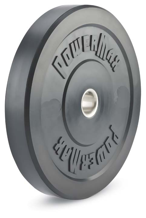 15 lb. Solid Rubber Weight Plates - 1 Pair