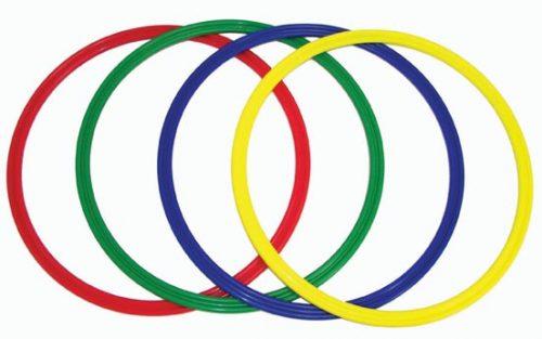 """15.5"""" Flat Hoop (2 Sets of 12, 24 Hoops Total)"""
