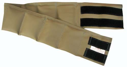 18 lb. Weighted Waist Belt from Olympia Sports (Set of 2)