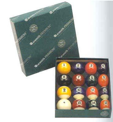"2 1/4"" Belgian Aramith Premium Billiard Ball Set (16 Ball Set) from Imperial International"