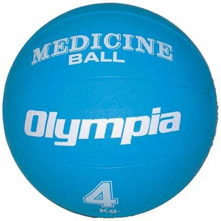 2 Kilo ( 4 - 5 lbs. ) Rubber Medicine Ball (Set of 2)