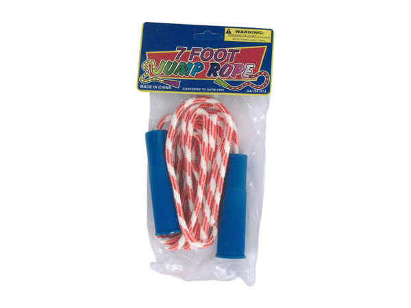 2 pack 7ft jump rope assorted colors - Pack of 72