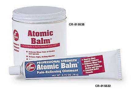 2.75 oz. Tube Cramer Atomic Balm Analgesic Ointment - Case of 12